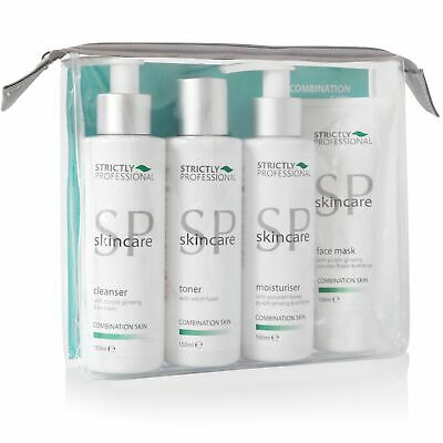 Strictly Professional Facial Care Kit Combination Cleansr Mask Moisturiser Toner