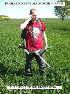 Freedom One For All Bungee Harness. Universal Metal Detecting Sling Professional