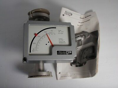 NEW Bailey Fischer and Porter D10A5471E Stainless Steel Flow Meter