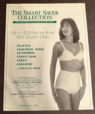The Smart Saver Collection, Ladies Bra and Girdle Catalog #26 Year 2000