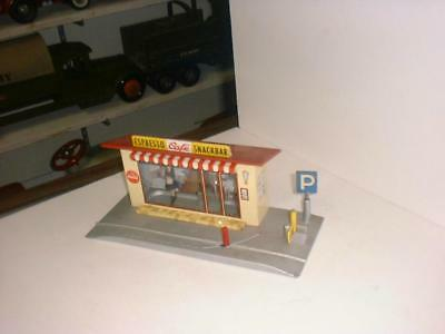 Schuco Espresso Cafe Snackbar / With Coke Ad / From The Marx Toy Warehouse