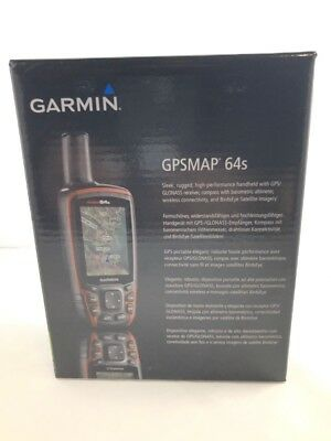 Garmin GPSMAP 64s Handheld GPS with GPS and GLONASS 010-01199-10 (FKT002199)