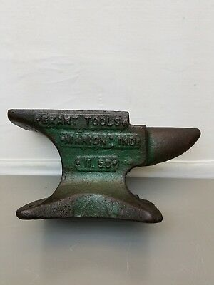 """Anvil by """"Grant Tools"""", Marion Ind. 11.50 lbs -  8"""" L x 4"""" H"""