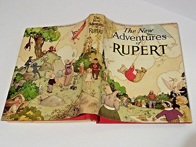 """Rare Vintage Original 1st edition 1936 Rupert Annual. """"Exc.+"""" Intact Dust Cover."""