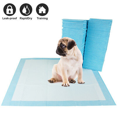 "100 Pet Disposable Training Pads for Dog and Puppy Underpads, 22"" x 22"" PE-PAD"