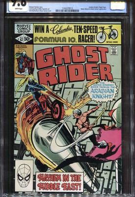 Ghost Rider #62 (11/1981) Cgc 9.8 Nm/mt ~ Budiansky/janson Cover ~ White Pages