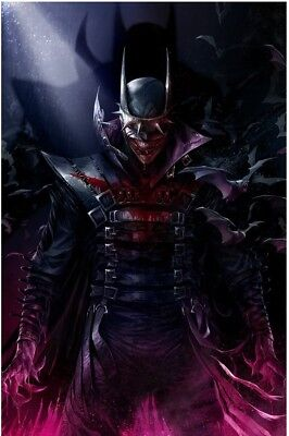 Batman Who Laughs 1 Mattina Variant Virgin Minimal Trade Dress Dc Limited 600