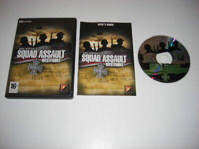 Eric Young's SQUAD ASSAULT WESTFRONT  Pc Cd Rom  Fast Dispatch