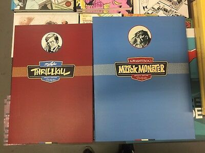 Bernie Wrightson Muck Monster And Neal Adams Thrillkill Portfolio