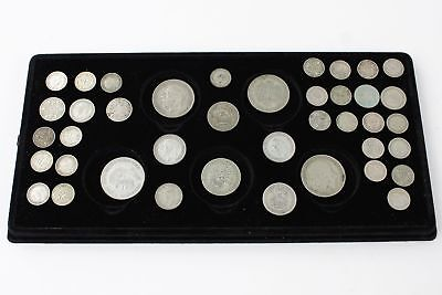 Lot of Vintage Pre 1947 GEORGE V &VI Mixed Denomination Silver Coins (141g)