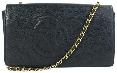 4f4b93eb73 Chanel Wallet on Chain Caviar Organizer Flap Leather Cross Body Bag 01cz0724