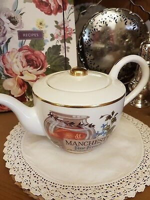 Manchester Tea Co. Teapot From The Great Tea Merchants Teapot Collection