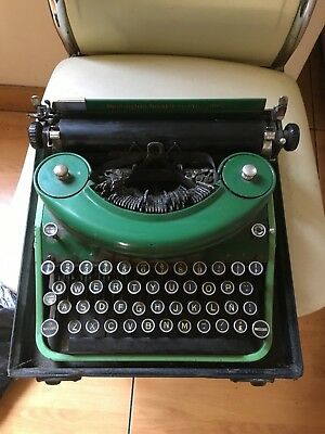 Antique Very Rare Remington Noiseless Portable Typewriter Usa Made Years 1900's