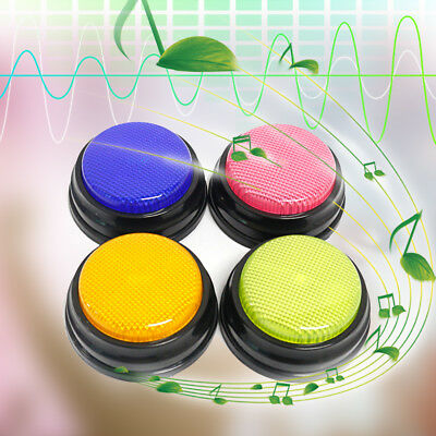 Recordable Sound Button Answer Buzzer Button Parent-Child Interactive Toy T0Q3