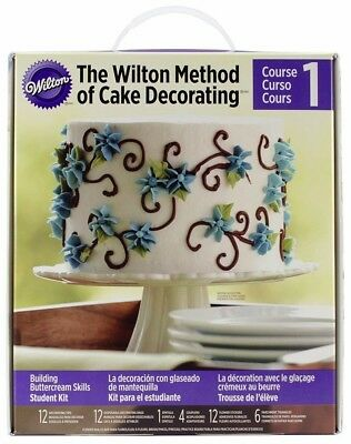 Cake Decorating Student Kit - Building Buttercream Skills
