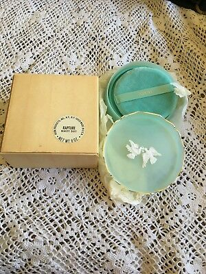 Vintage Avon Rapture Beauty Dust Never Opened And In Original Box