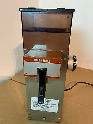Ditting Coffee Grinder Brown KF804 Swiss Made Precision