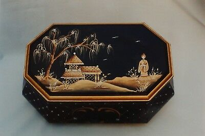 "Judy Diephouse tole painting pattern ""Chinoiserie Bombay Box"""