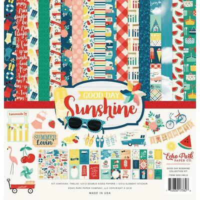 Echo Park Collection Kit - GOOD DAY SUNSHINE - papers & stickers
