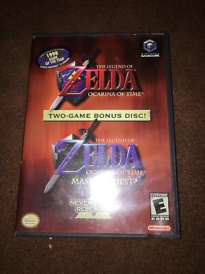 The Legend of Zelda Ocarina of Time Master Quest (Nintendo GameCube) COMPLETE