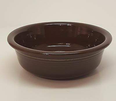 Fiestaware Chocolate Companion Bowl Fiesta Retired Brown Serving Bowl 30 oz
