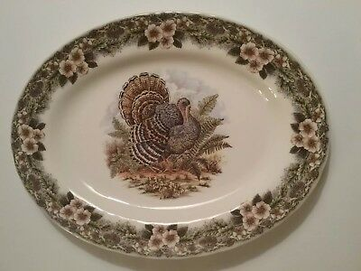 Queens Myott Thanksgiving 13 Inch Platter