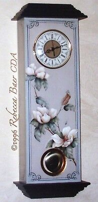 "Rebecca Baer tole painting pattern ""Time for Magnolias"""