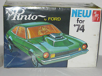 VINTAGE AMT 1974 FORD PINTO 1/25 SCALE KIT FACTORY SEALED (price lowered 4 XMAS)