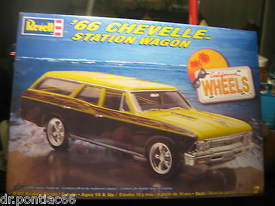 Revell 1966 Chevelle Station Wagon Factory Sealed