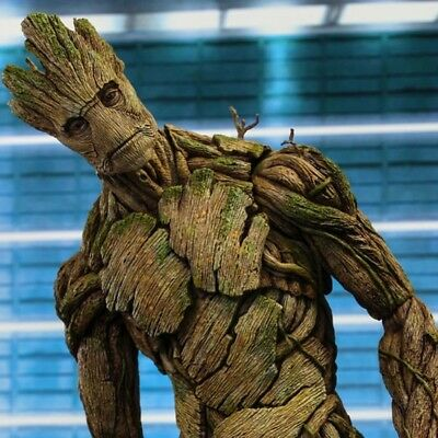 Marvel Guardians of The Galaxy Groot Tree Man Avengers 40cm Big Size BJD Action