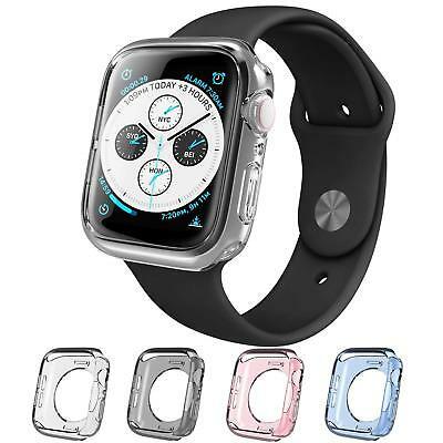 Apple Watch 4 Case 44mm 2018,TPU Cases 4 Color Combination Pack Set Cover New