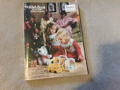 Sears Roebuck Christmas Wish Book Catalog 1980 Rare Wishbook Atari,  Star Wars
