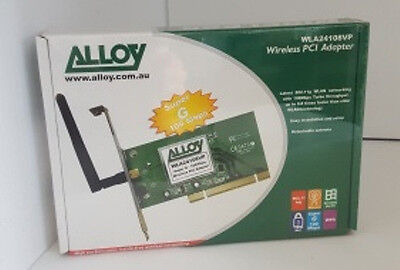 Alloy Wireless PCI Adapter Card  **Warehouse Pickup Only**
