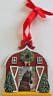 Breyer 2008 Holiday Photo Frame Christmas Ornament New in Box