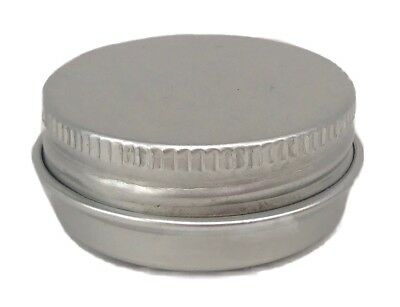 Nutley's Lip Balm Tins Aluminium Screw Top 15ml Lip Gloss Balms Beauty Pots