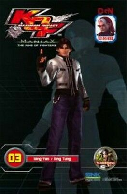King of Fighters Maximum Impact Maniax Vol. 03 Book