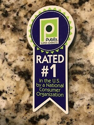 VERY HARD TO FIND PUBLIX Rated #1 Pin / Badge
