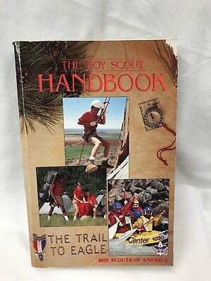 The Boy Scout Handbook The Trail to Eagle 10th Edition 1990 Paperback