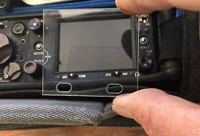 LCD screen protectors for Sound Devices 633, 664 & 688