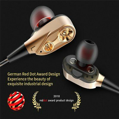 3.5mm Super With Mic Bass Music In ear Stereo Headphone Headset Earphone Earbuds