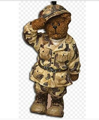 "Boyds Bears & Friends ""G.I. Bruin"" Christmas Ornament~US Army~Veteran~Military~"