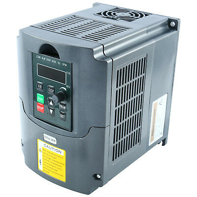 Upgrade 2.2KW 220V 3HP Single Phase To 3Phase Variable Frequency Drive Converter