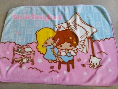 Little Twin Stars Soft Plush Baby Blanket – Excellent Condition!