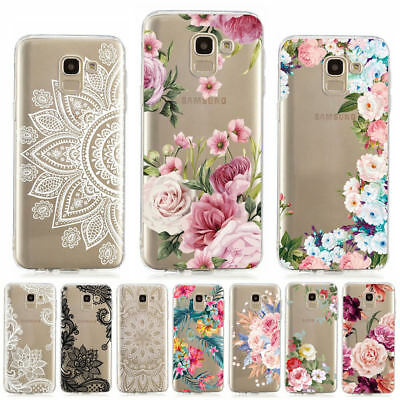For Samsung J4 J6 Plus 2018 J3 J5 J7 2017 Painted Slim Soft Silicone Cover Case