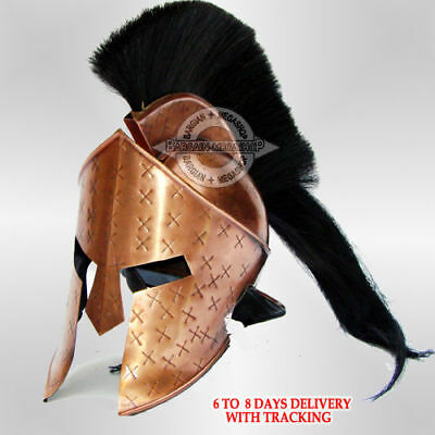 MEDIEVAL KING LEONIDAS HELMET ROMAN SPARTAN 300 MOVIE HELMET Halloween Presents