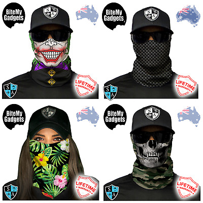 Salt Armour Face Shield ™ Bandana Durag Neck Scarf Headwear UV Mask Fishing SA