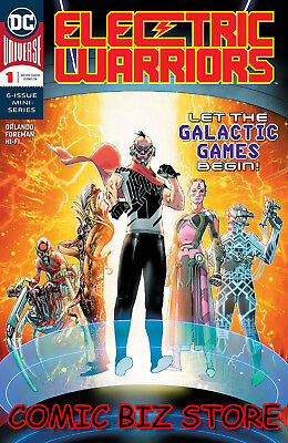 Electric Warriors #1 (Of 6) (2018) 1St Printing Main Cover Dc Universe