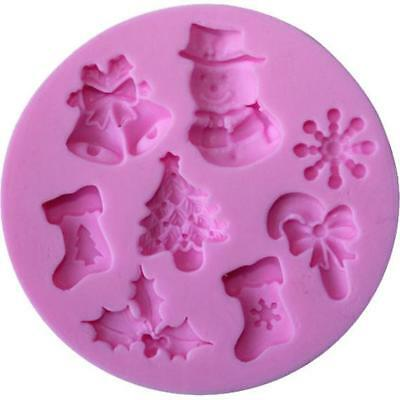 Christmas Silicon Mould