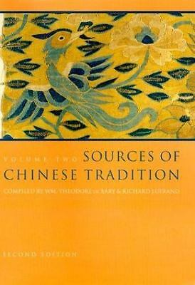 Sources of Chinese Tradition Vol. 2 ( Hardcover )