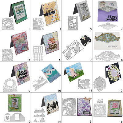 Star Frame DIY Cutting Dies Metal Stencil Scrapbooking Album Paper Card Art Gift